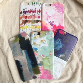 iPhoneケース、壁紙など