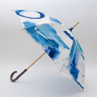 手描きの日傘