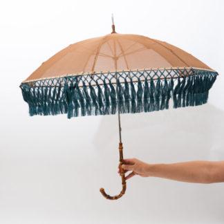 アンティークパーツの日傘